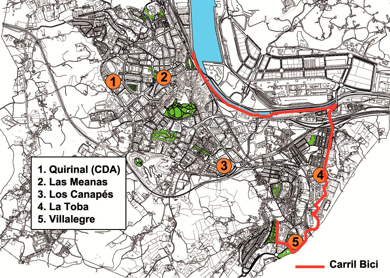 localización bicicletas de avilés